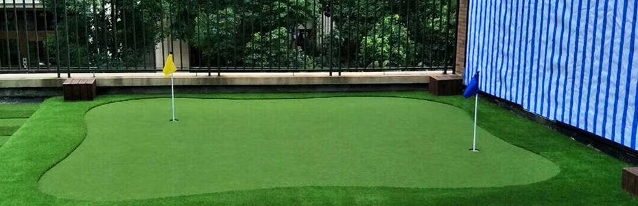 Green putting&tennis artificial turf